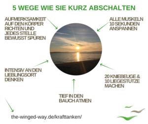 5 Wege wie Sie kurz abschalten_Anke Lambrecht